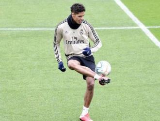 Varane entrena para volver a buen nivel/ Foto Cortesía