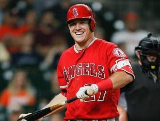Trout es uno de los mejores pagados de la MLB/ Foto Cortesía