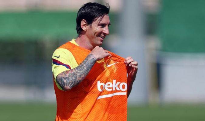 Messi anhela el retorno de la competición/ Foto EFE