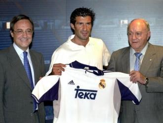 Figo ganó una Champions con el Madrid / FOto: Cortesía