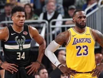 Lakers y Bucks encabezan ambas conferencias / Cortesía