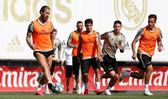 El Madrid se prepara para el retorno de LaLiga/ Foto @realmadrid