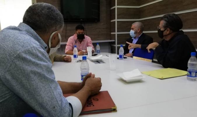 Se reunieron en la sede de El Rosal