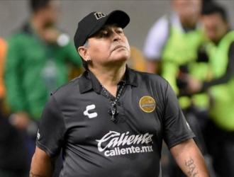 Maradona dirige a Gimnasia y Esgrima / Foto: Cortesía