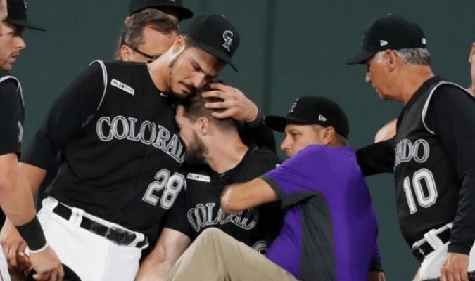 Rockies de Colorado con problemas a poco de empezar la temporada / foto cortesía