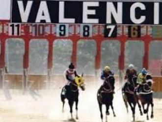 Todo listo para las carreras en vivo de Valencia