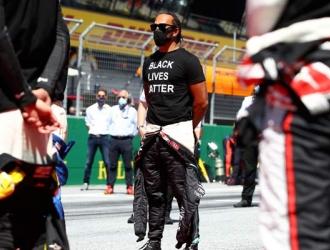 Hamilton decidido a luchar por la igualdad/ Foto AP