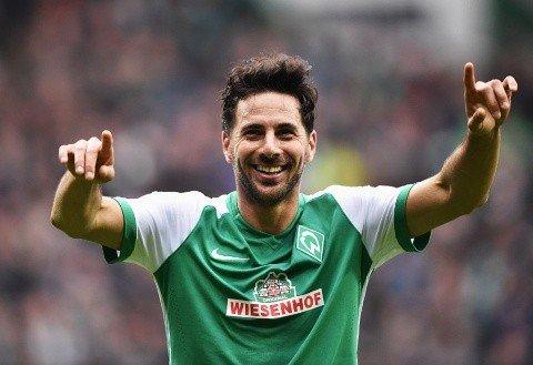Claudio Pizarro en su segunda etapa en el Werder Bremen /Foto cortesía