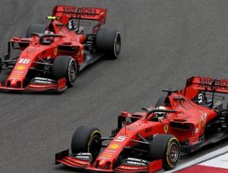 Ferrari parte tercero en la tabla de constructores / foto cortesía