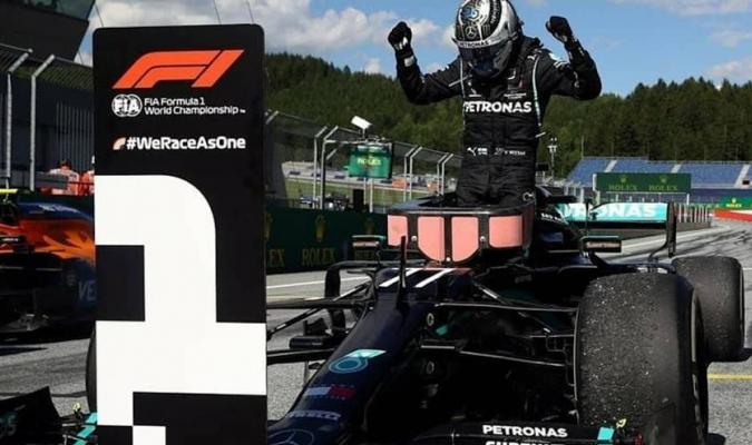 Pese a esta incidencia, Bottas logró la victoria en el Gran Premio de Austria