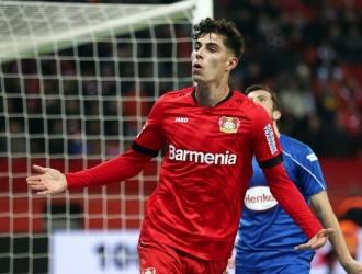Havertz marcó 12 goles esta temporada en la Bundesliga /Foto cortesía