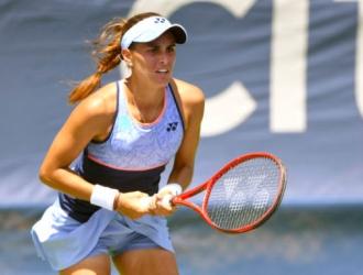 La tenista vuelve a la competición con su equipo / Foto Cortesía
