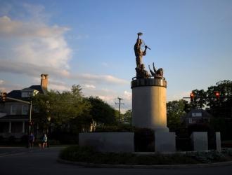La estatua está en Virginia, EEUU / Foto: Cortesía