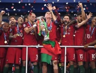 Portugal venció a Francia por un gol /Foto cortesía