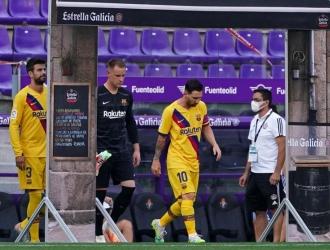 Messi y Ter Stegen han jugado todos los minutos / foto cortesía
