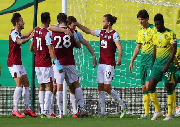 El Norwich terminó el encuentro con dos jugadores menos /Foto cortesía