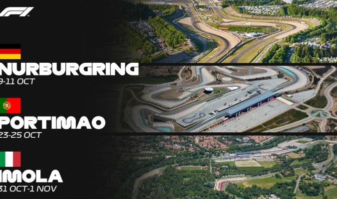 La F1 tendrá tres nuevas carreras /  foto cortesía