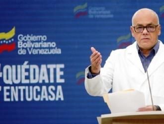 Jorge Rodríguez dio la información   ARCHIVO