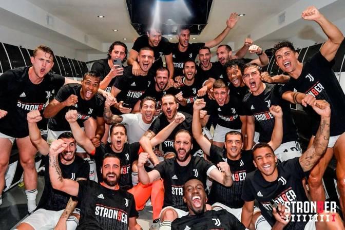 Juvntus celebró un nuevo título de Liga /Foto cortsía