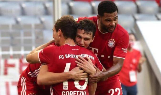 El Bayern ganó la Bundesliga y la Copa de Alemania