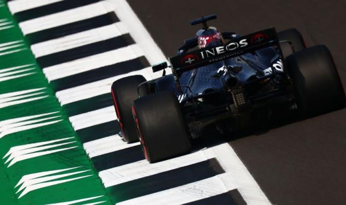 Hamilton se vio bien en el coche/ Foto Cortesía