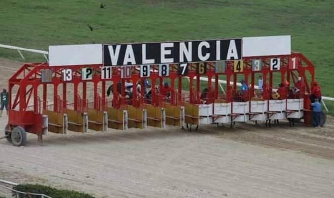 solo se disputaron las primeras cinco carreras de la programación