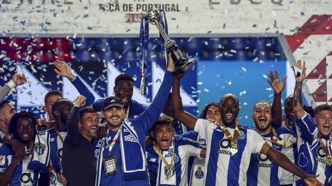 Porto logró su segunda victoria en 10 finales de copa frente a Benfica /Foto cortesía