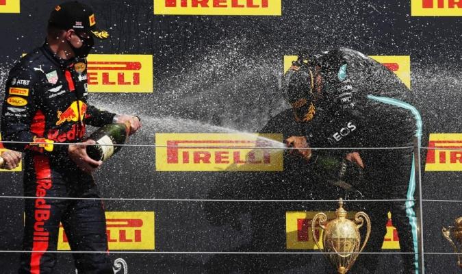 El piloto de Red Bull ve bien el resultado/ Foto Cortesía