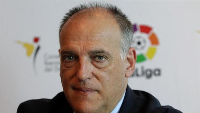 Vidal anunció que el club gallego pedirá al CSD la inhabilitación del actual presidente de la Lig