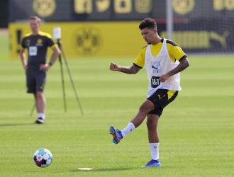 Dortmund confía tener a Sancho para la próxima temporada / foto cortesía