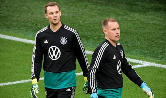 Neuer y Ter Stegen protagonizaran otro duelo de porteros alemanes / foto cortesía