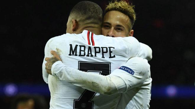 Neymar acertó 17 regates en el encuentro, record del torneo /Foto cortesía