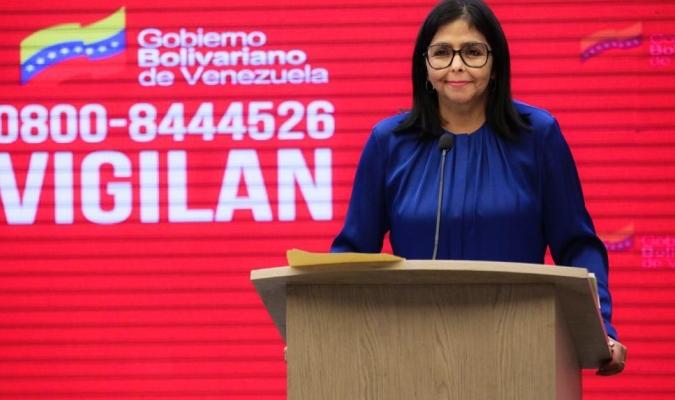 La vicepresidenta confirmó un repunte en el Distrito Capital  @MPPS