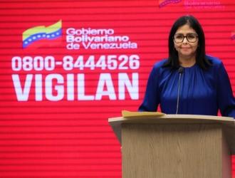 La vicepresidenta confirmó un repunte en el Distrito Capital| @MPPS