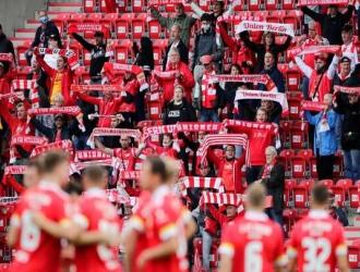 Los hinchas del Union saludaron la oportunidad de asistir a partido de pretemporada contra el Nuremb