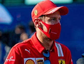 Vettel fich por el Astron Martin / foto cortesía