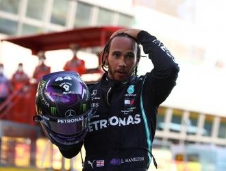 Lewis Hamilton se quedó con la carrera/EFE