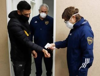 Boca Juniors llegará este miércoles por la noche a Asunción