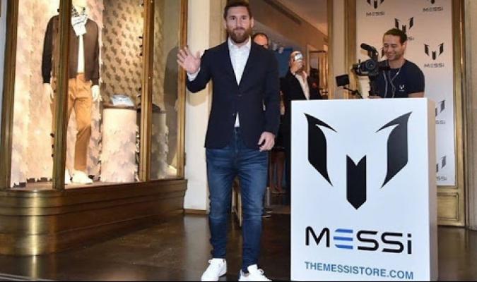 Se avala la marca Messi / foto cortesía