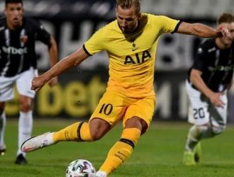 Kane y Ndombele anotaron por los Spurs /Foto cortesía
