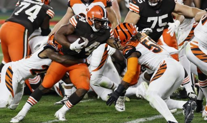 Browns superan a los Bengals / foto cortesía