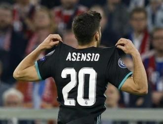 Asensio abandona el dorsal número 20 /Foto cortesía