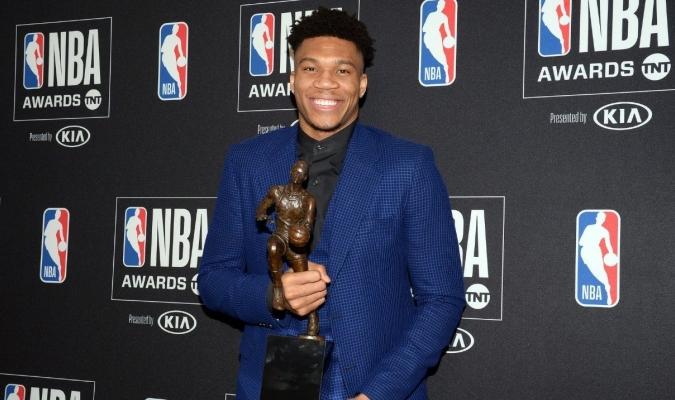 El griego ganó el año pasado el MVP / Cortesía