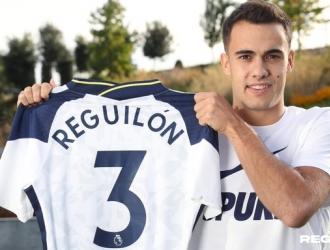 Reguilón llevará el número 3/ @SpursOfficial