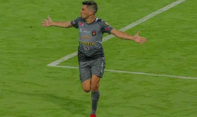 El delantero hizo la diferencia en Colombia| Prensa Caracas FC