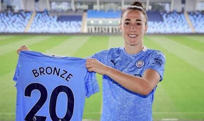 Bronze es nueva jugadora del City