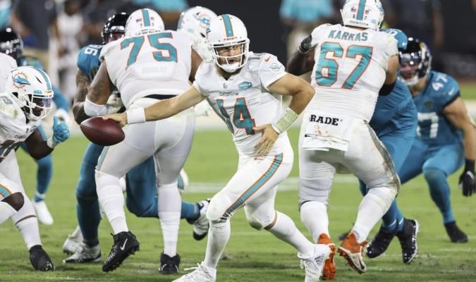 Dolphins superan a los Jaguars / foto cortesía