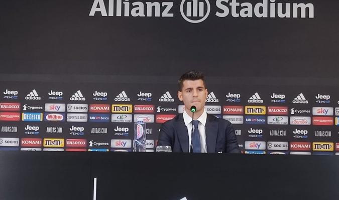 El nuevo refuerzo del Juventus se mostró motivado/ @juventusfces