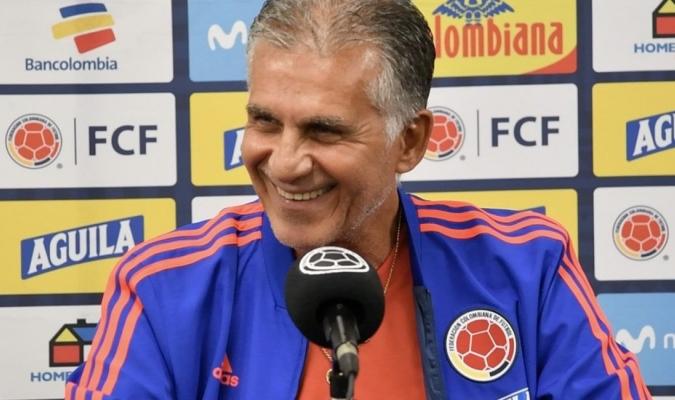 El portugués afrontará su primer premundial como seleccionador  @FCFSeleccionCOL