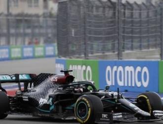 Voló en la clasificación de la carrera